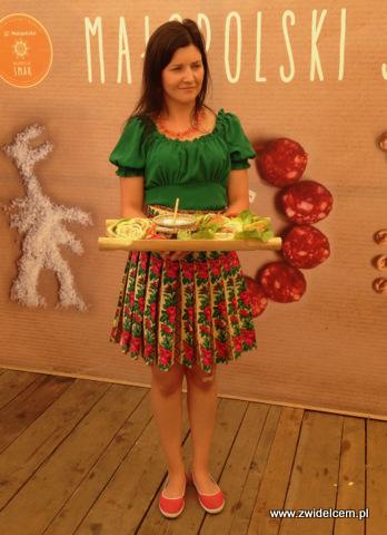 Nowy Targ - Małopolski Festiwal Smaku - prezentacja produktów