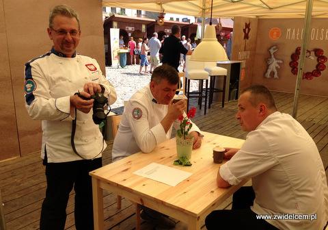 Stary Sącz - Małopolski Festiwal Smaku - kucharze