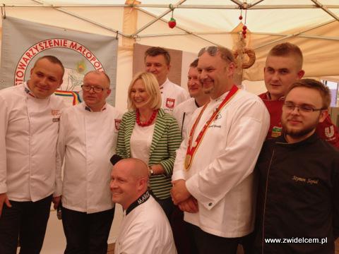 Nowy Targ - Małopolski Festiwal Smaku - relaks - kucharze z Mają Popielarską