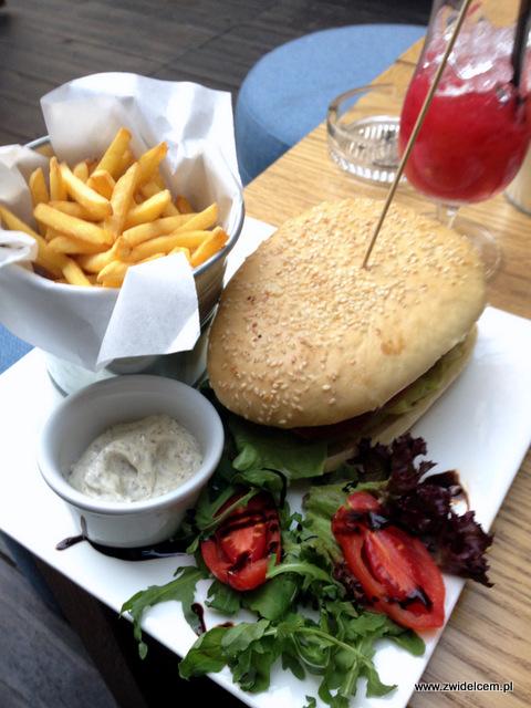 Kraków - Atelier - burger