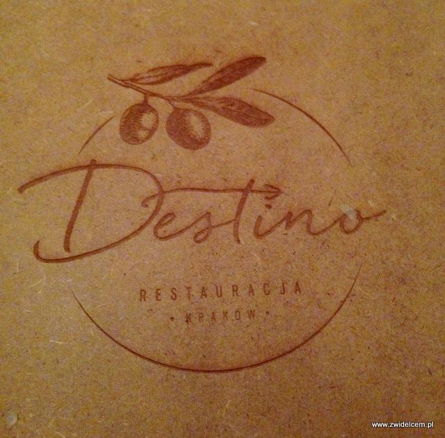Kraków - Destino -menu
