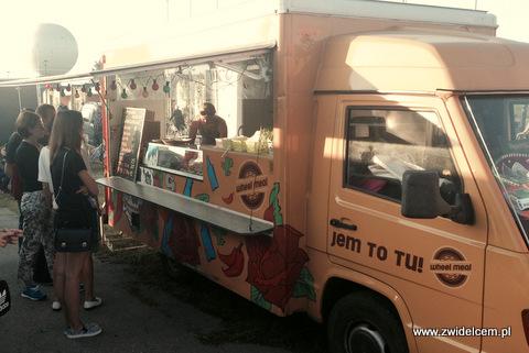 Kraków - Forum Przestrzenie - FORUM FOOD CAMP - Wheel meal wóz