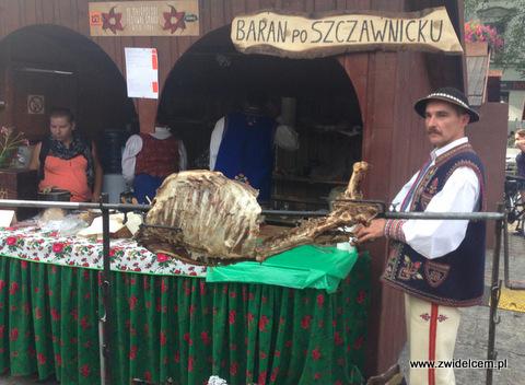 Kraków - Małopolski Festiwal Smaku - baran po szczawnicku
