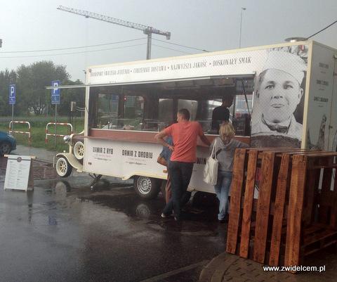 Kraków - Zacny burger milordzie - ciężarówka