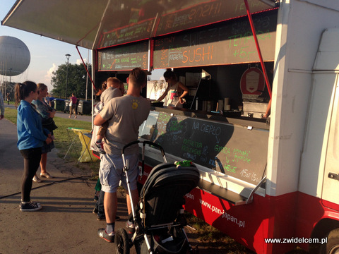 Kraków - Forum Przestrzenie - FORUM FOOD CAMP - Pan Japan truck