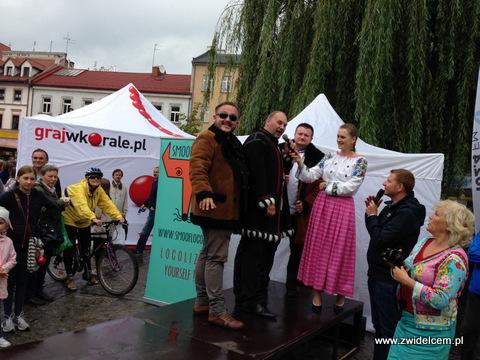 Kraków - Małopolski Festiwal Smaku - pokaz mody