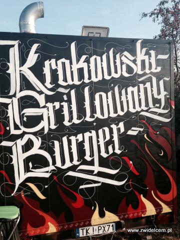Kraków - Forum Przestrzenie - FORUM FOOD CAMP - Krakowski Grillowany Burger