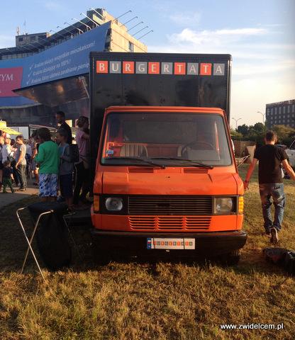 Kraków - Forum Przestrzenie - FORUM FOOD CAMP - Burger Tata