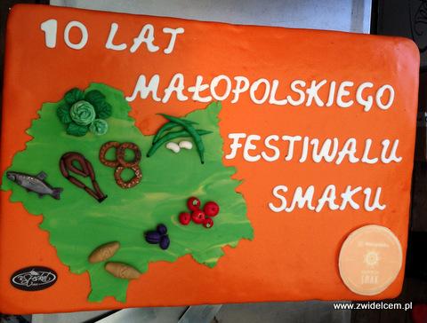 Kraków - Małopolski Festiwal Smaku - tort