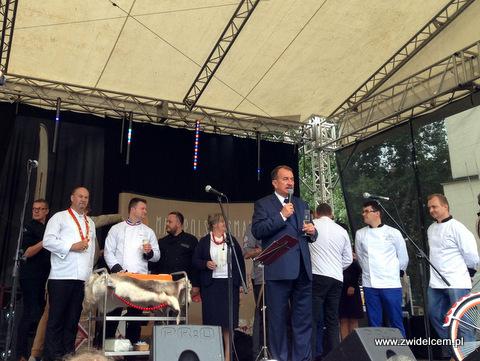 Kraków - Małopolski Festiwal Smaku - Marszałek