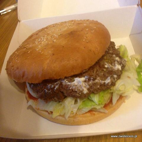 Kraków - Zacny burger milordzie - Guaca burger