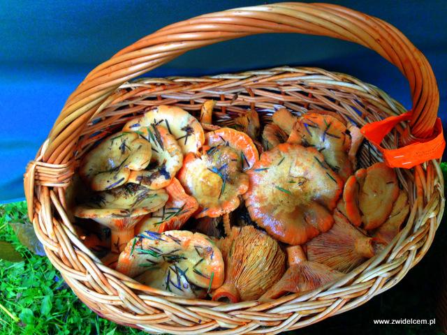 Wysowa - Święto Rydza - koszyk rydzów