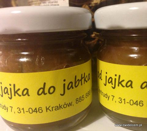 Kraków - Od jajka do jabłka - chutney z gruszek