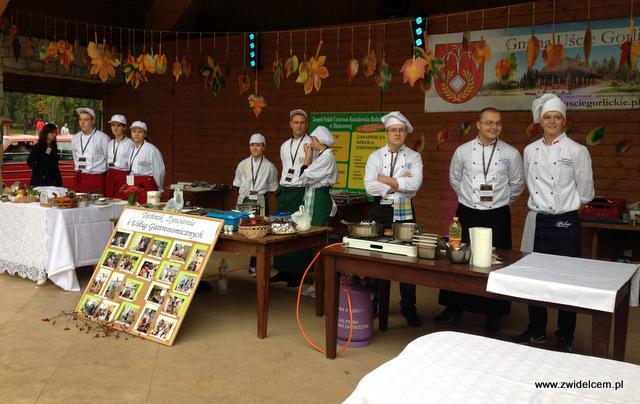 Wysowa - Święto Rydza - Konkurs kulinarny dla szkół gastronomicznych