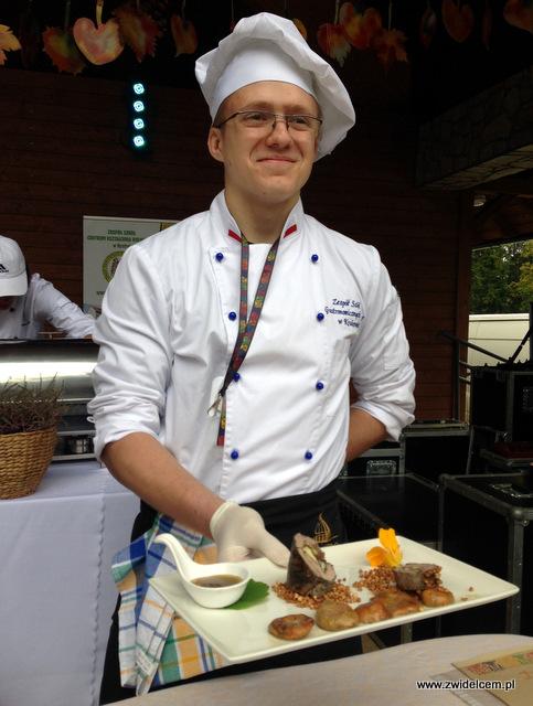 Wysowa - Święto Rydza - prezentacja - Zespół Szkół Gastronomicznych z Krakowa