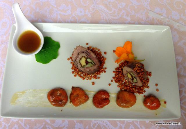 Wysowa - Święto Rydza - rydze, jagnięcina, sos z pędów sosny, prażona kasza