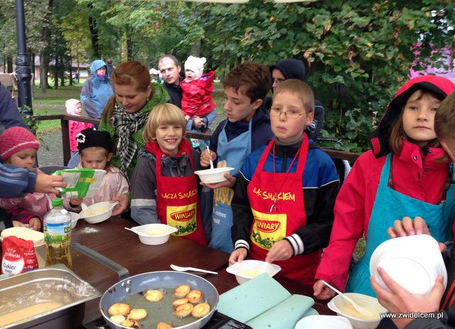 Wysowa - Święto Rydza -dzieci na warsztatach