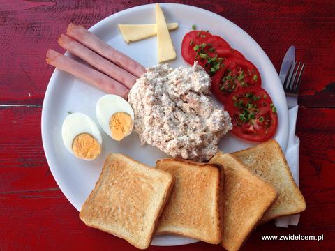 Kraków - Warsztat - śniadanie z twarożkiem z tuńczykiem