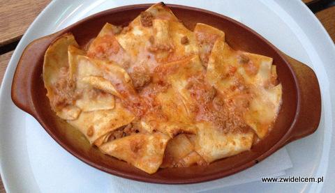 Kraków - Bistro Italiano da Silvano - lasagne