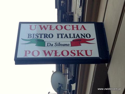 Kraków - Bistro Italiano da Silvano - szyld