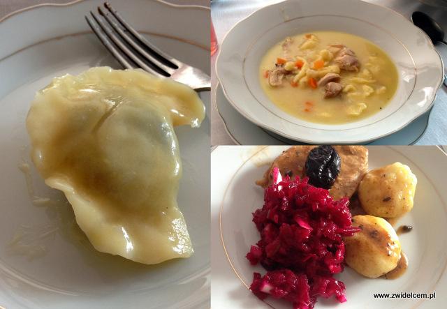 Trzy znaki Smaku - Ujanowice- dom państwa Szewczyków - obiad
