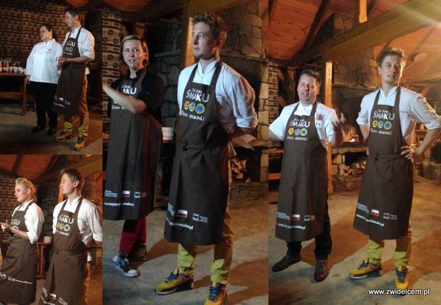Trzy znaki Smaku - Ujanowice- kolacja szefów kuchni