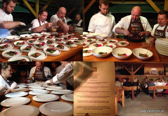 Trzy znaki Smaku - Ujanowice- dom państwa Szewczyków - kolacja