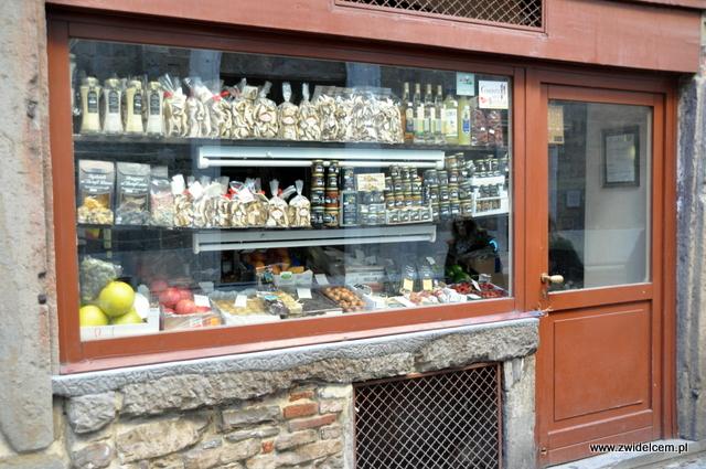 Bergamo - sklepy przy via Colleoni