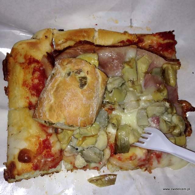 Bergamo - Il Fornaio - pizza na kawałki