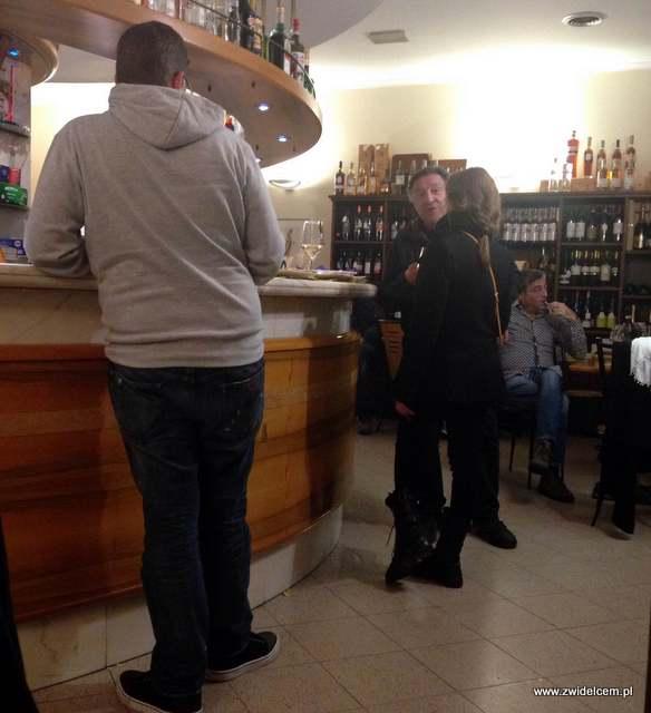 Bergamo - Caffeteria del Bosco - piatkowy wieczór