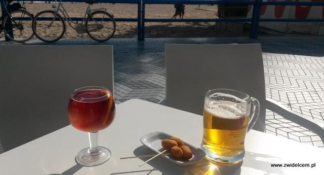 Hiszpania - Alicante - bar przy plaży