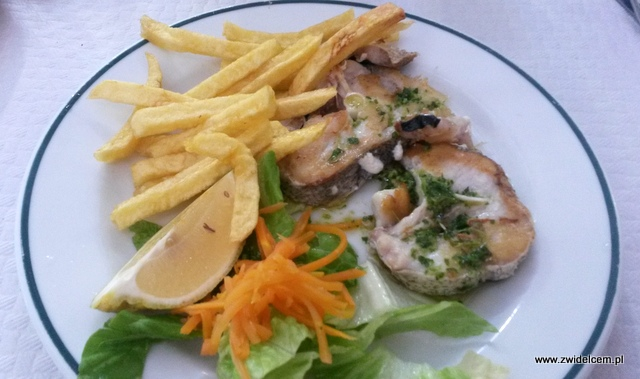 Hiszpania - Alicante - Casa Dimas - morszczuk