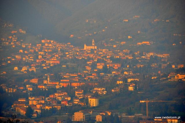 Bergamo - widok - panorama