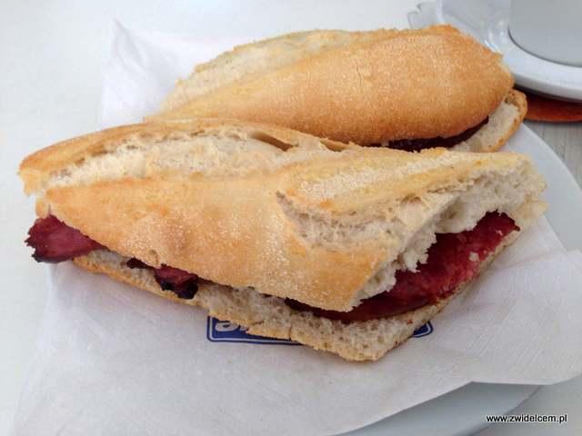 Hiszpania - pierwsza kanapka z chorizo criollo