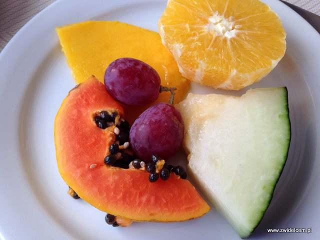 Hiszpania - Benalmadena - Hotel Casa Rosa - owoce