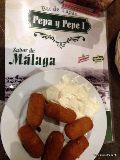 Hiszpania - Malaga - croquettas