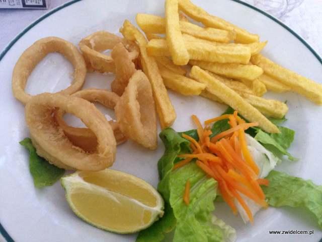 Hiszpania - Alicante - Casa Dimas - calamares andaluza