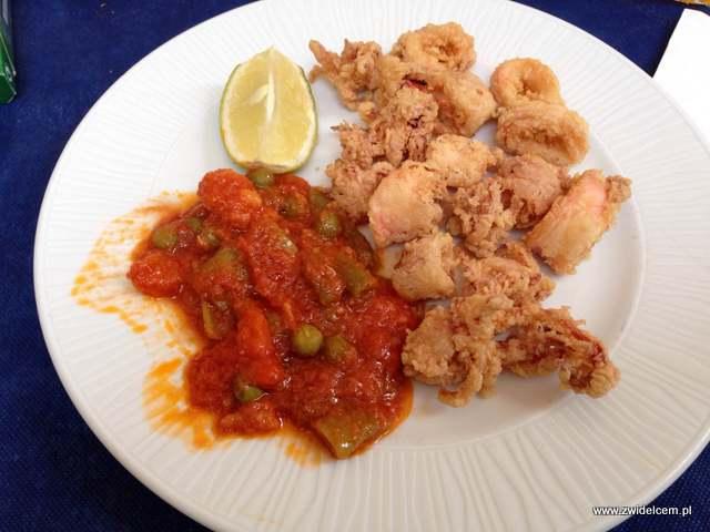 Hiszpania - Alicante - El Buen Comer - kalmary po andaluzyjsku