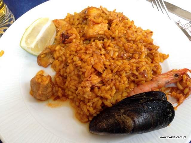 Hiszpania - Alicante - El Buen Comer - paella mixta
