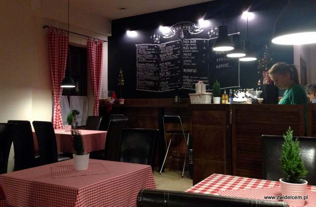 Kraków - Balkan Express Grill - wnętrze