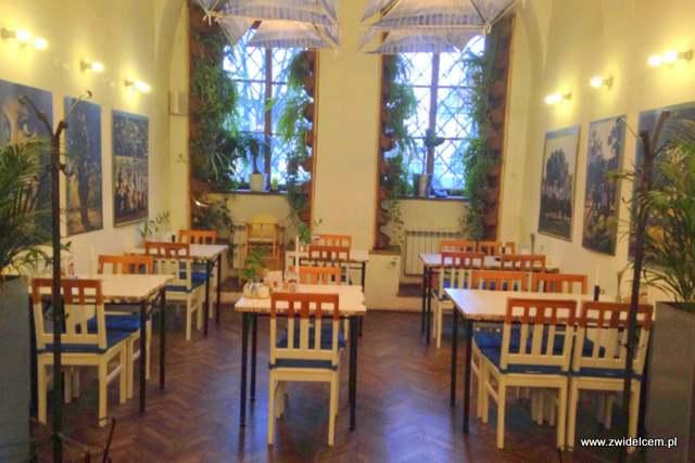 Kamsa - Kraków - wnętrze