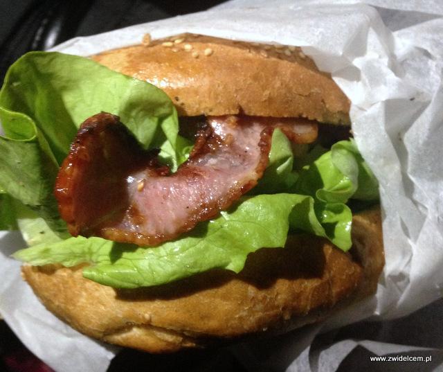 Kraków - Boogie Truck - bacon burger