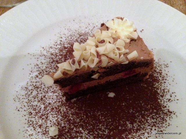 Kraków - La Grande Mamma - ciasto czarny las - deser