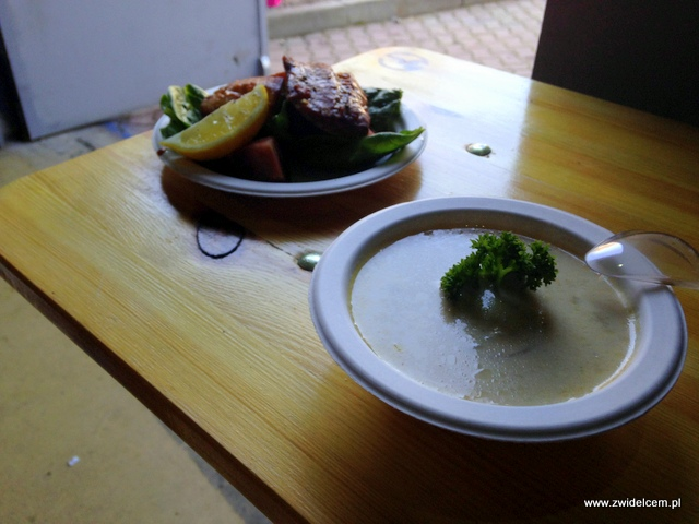 Foodstock Zupa - The Dorsz British Fish & Chips - zupa i dorsz