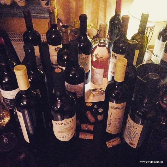 Kraków - Klimaty Południa - Vinisfera.pl - Degustacja win gruzińskich - butelki