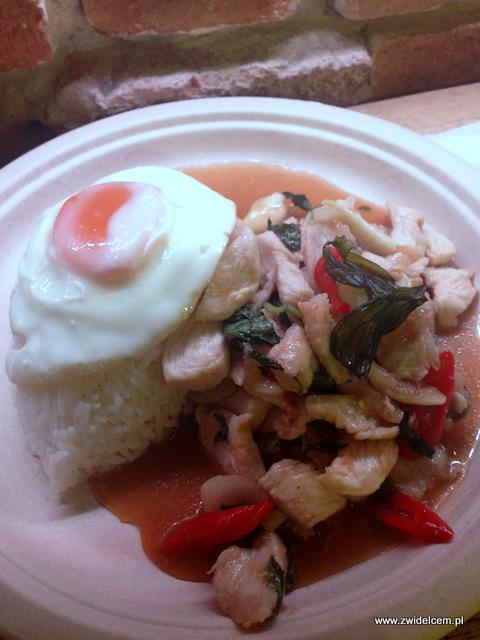 Kraków - Big Mango - Zwierzyniecka - Smażony kurczak ze słodką tajską bazylią