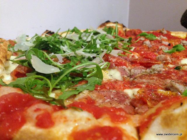 Kraków - Pizzeria Garden - pizza z bliska