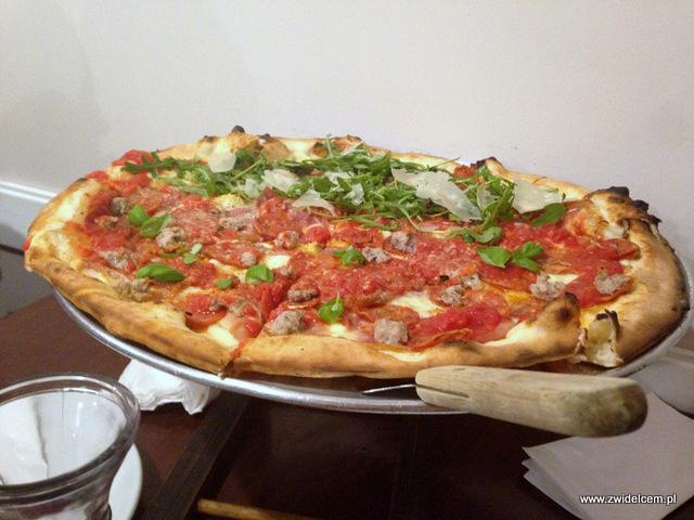 Kraków - Pizzeria Garden - pizza - Parma- Meat Lovers