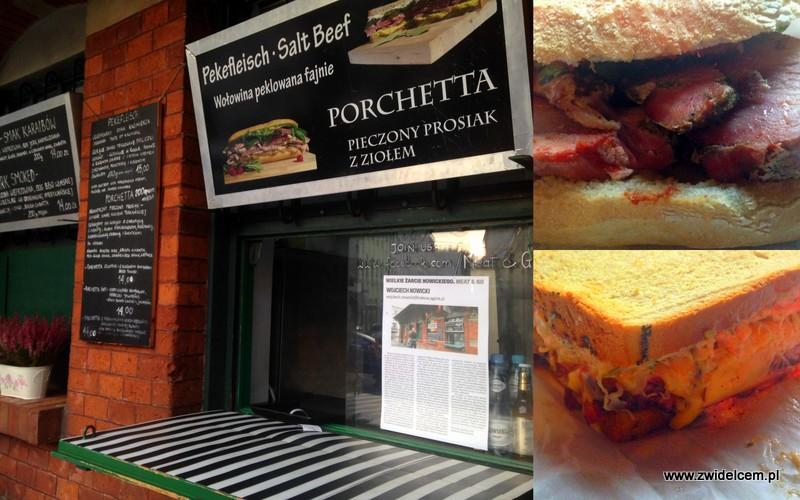 Kraków - Meat&Go - Porchetta - Reuben