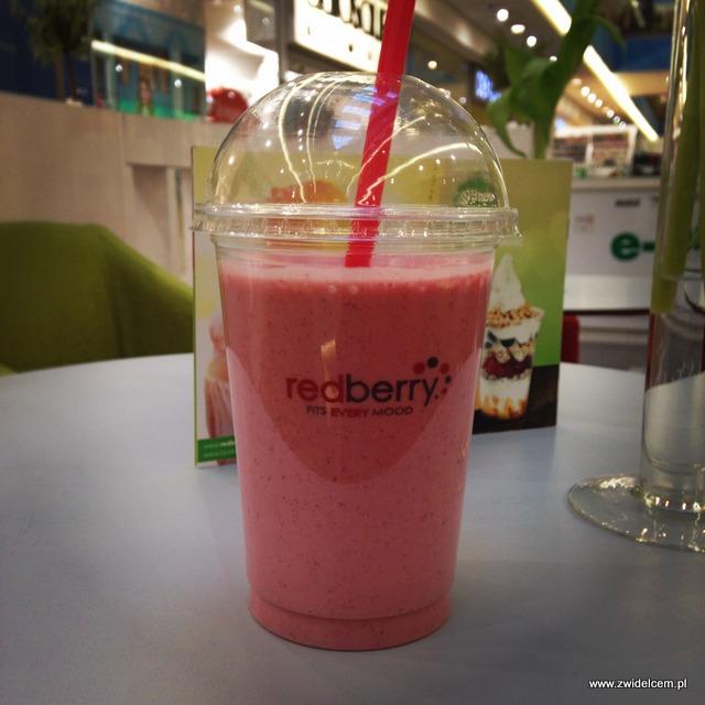 Kraków - RedBerry - Smoothie owoce leśne